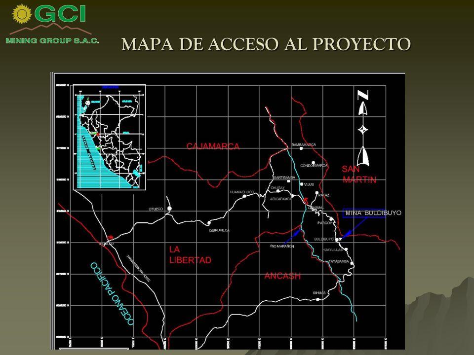 MAPA DE ACCESO AL PROYECTO