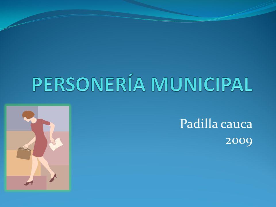 Padilla cauca 2009