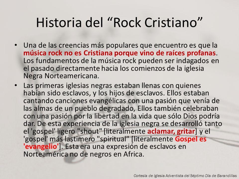 Rock Cristiano Cortesía de Iglesia Adventista del Séptimo Día de Barandillas