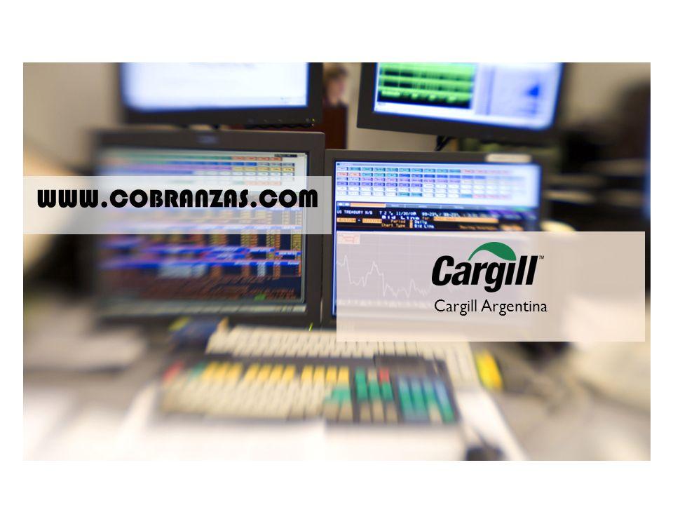 www.cobranzas.com WWW.COBRANZAS.COM Cargill Argentina