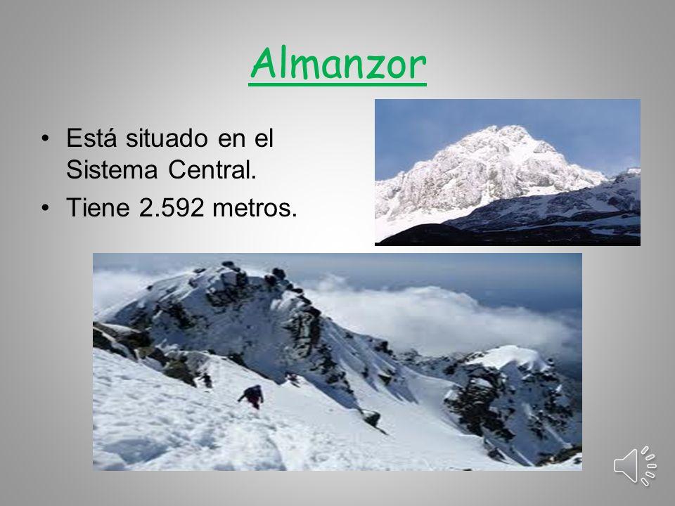 Moncayo Se encuentra en el Sistema Ibérico y alcanza los 2.313 metros.