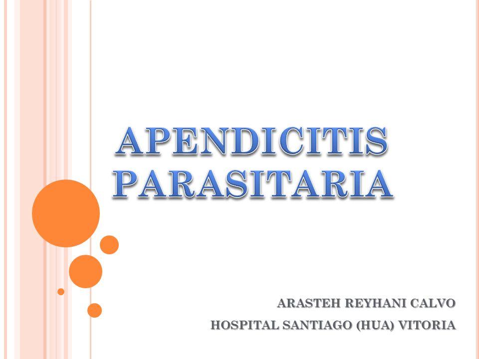 ARASTEH REYHANI CALVO HOSPITAL SANTIAGO (HUA) VITORIA