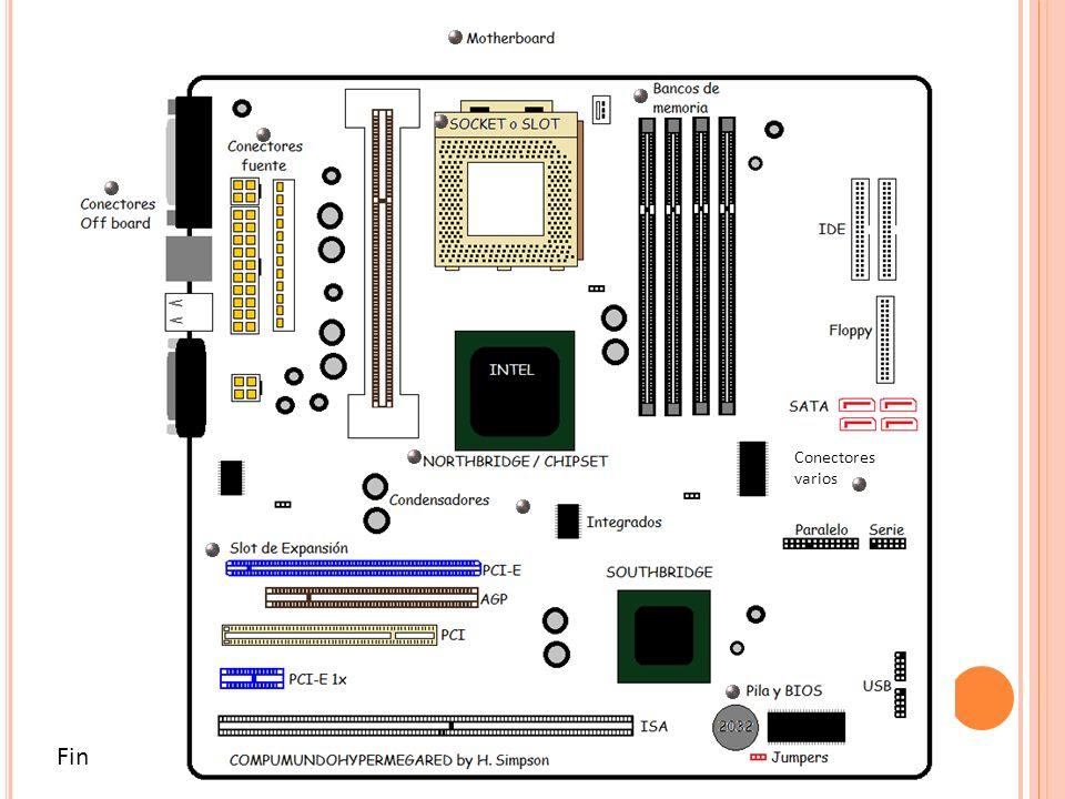 La pila mantiene los ajustes básicos del BIOS que ha realizado el usuario No se recarga y su modelo es CR2032 de 3Volts Junto a la pila existe un jumper o puente para borrar la memoria temporal del BIOS Los jumpers en el mother son puentes de configuración del hardware Cada mother tiene diferentes jumpers y funciones según marca y modelo