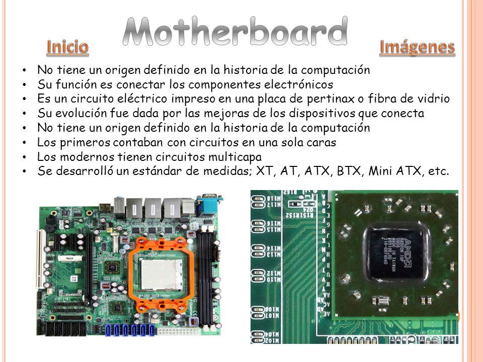 Un slot es un puerto libre del mother donde se pueden instalar placas de hardware adicionales Todos los mothers tienen al menos un slot de expansión Han ido evolucionando según su capacidad de transmisión de datos, cambiando de tamaño y forma