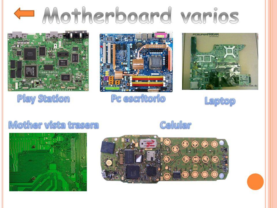 Conjunto de CI que conectan y administran los dispositivos del mother Determina las características del mother, como ser parámetros de los buses, velocidades, memorias máximas permitidas, etc.