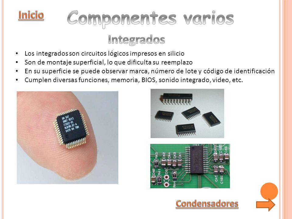 Memorias SIMM También disponibles en 70 y 32 pines, estas memorias se comenzaron a ver en los equipos 80386.