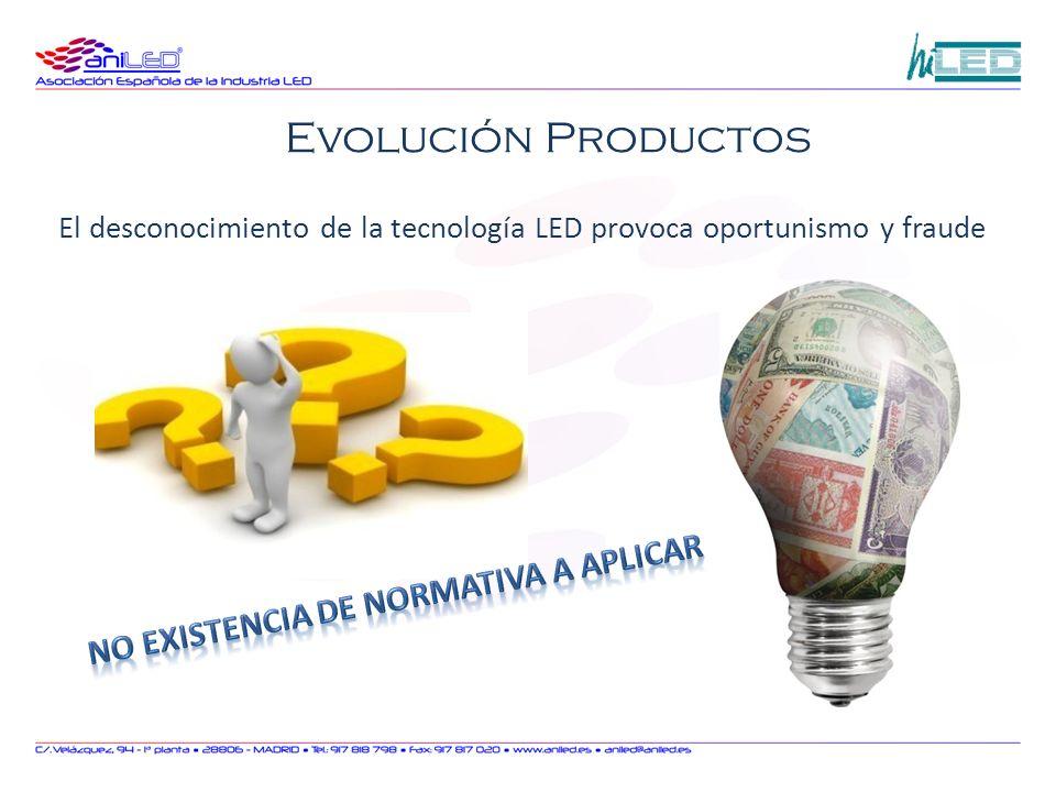 El desconocimiento de la tecnología LED provoca oportunismo y fraude