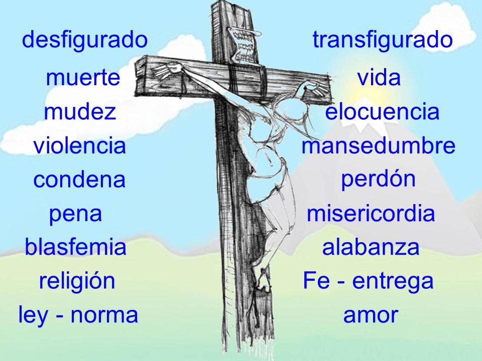mirarán al traspasado (Jn 19,37) el Hijo del Hombre tiene que ser levantado en alto, para que todos los que creen en Él tengan vida eterna (Jn 3, 14-15) cuando levantéis en alto a este Hombre, entonces comprenderéis que yo soy el que soy y que no hago nada de por mí, sino que esto que digo me lo ha enseñado el Padre (Jn 8, 27-29) cuando sea levantado de la tierra, atraeré a todos hacia mí (Jn 12, 32)