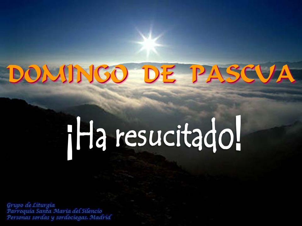 DOMINGO DE PASCUA DOMINGO DE PASCUA