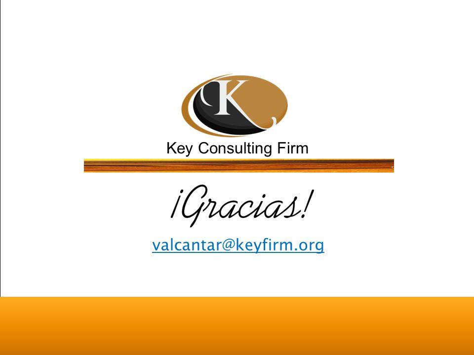 Key Consulting Firm Key Firm México ® Todos los derechos reservados valcantar@keyfirm.org