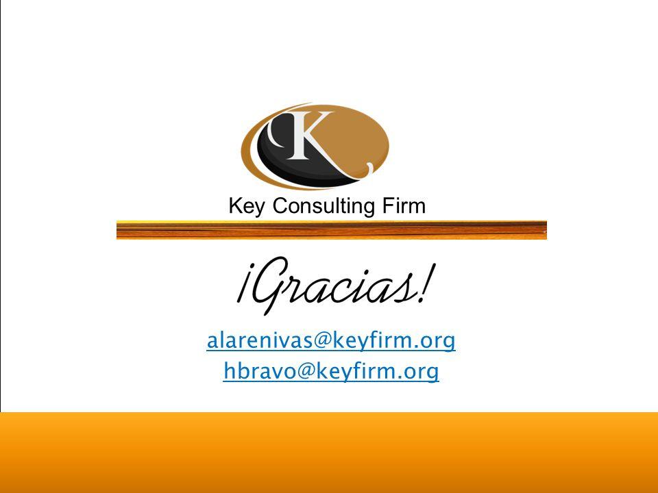 Key Consulting Firm Key Firm México ® Todos los derechos reservados alarenivas@keyfirm.org hbravo@keyfirm.org