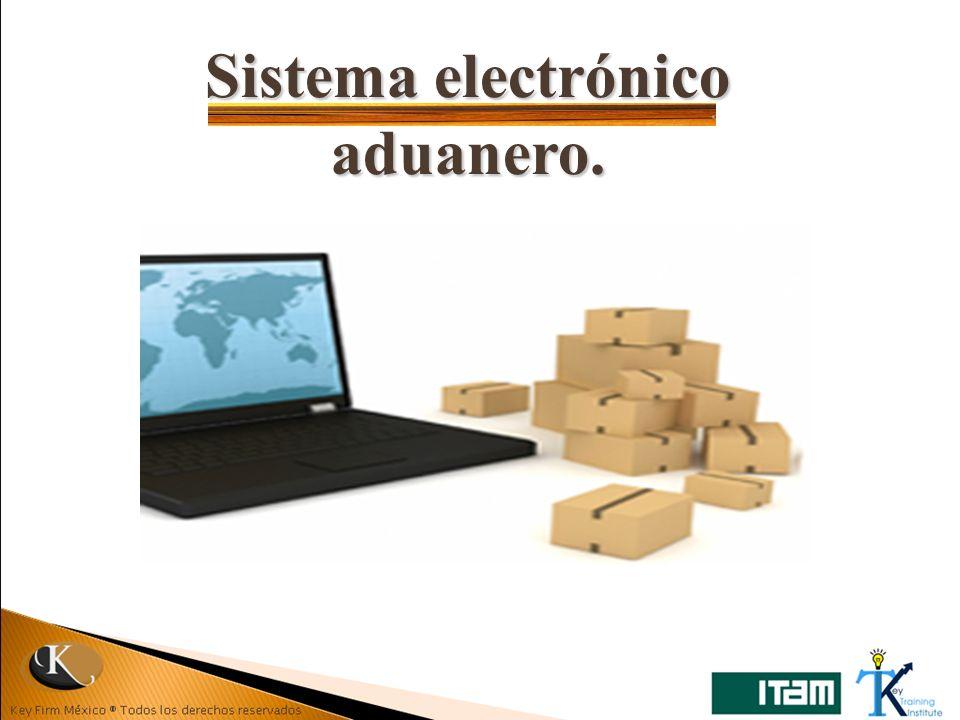 Sistema electrónico aduanero.