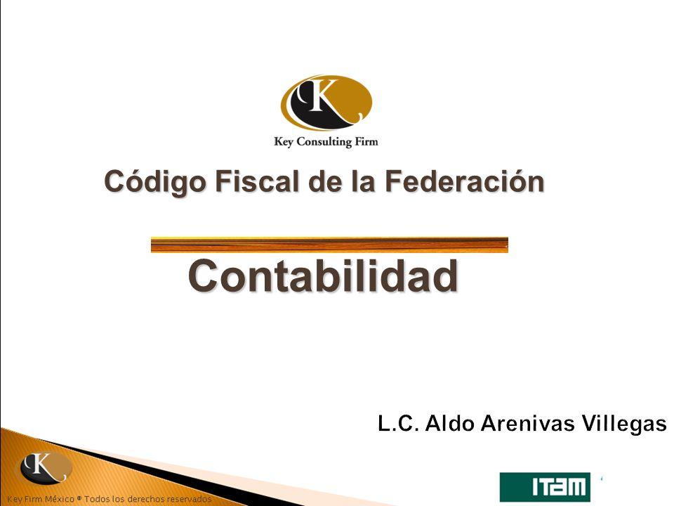 Código Fiscal de la Federación Contabilidad