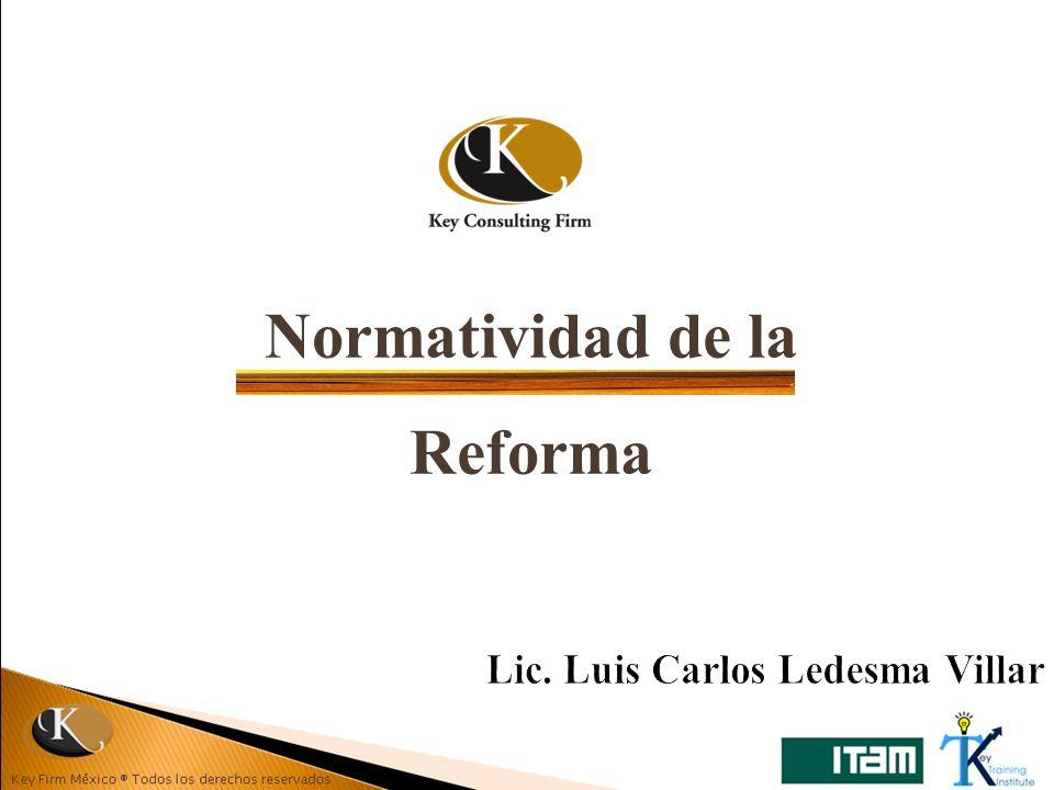 Normatividad de la Reforma