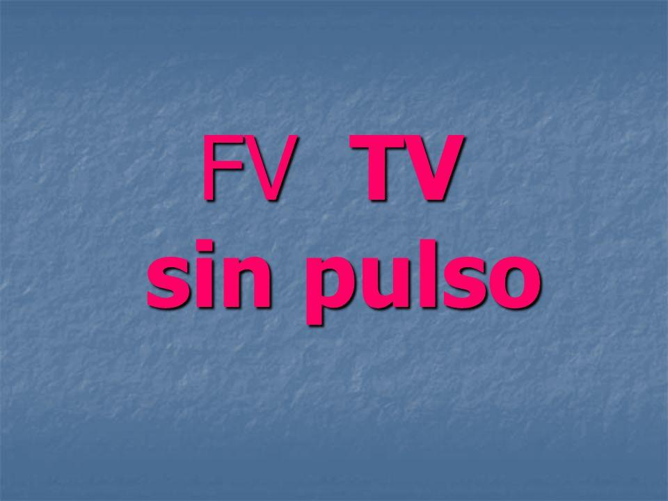 FV / TV sin pulso Ritmos de paro cardiaco: Ritmos de paro cardiaco: FV/TV sin pulso FV/TV sin pulso Asistolia Asistolia AESP AESP FV/TV sin pulso son los más frecuentes.