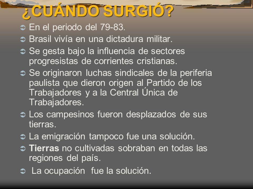 ¿CUÁNDO SURGIÓ.¿CUÁNDO SURGIÓ. En el periodo del 79-83.