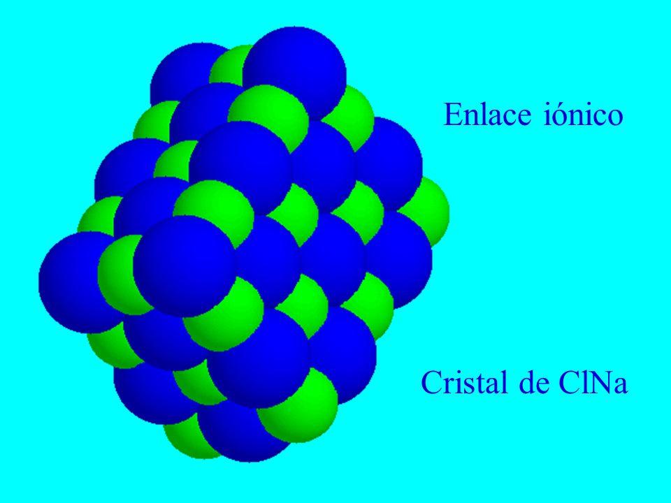 Enlaces covalentes 1.Compartición de electrones en orbitales moleculares 2.