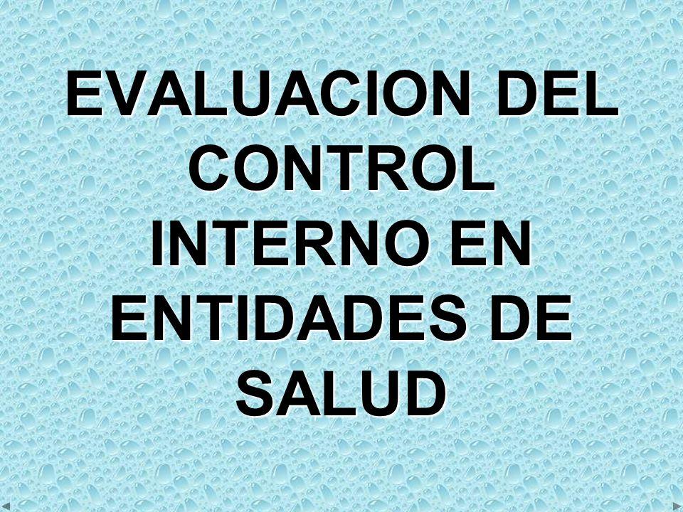 CÓMO MEJORAR EL CONTROL INTERNO A.CUESTIONARIOS EVALUARLOS PERIÓDICAMENTEB.