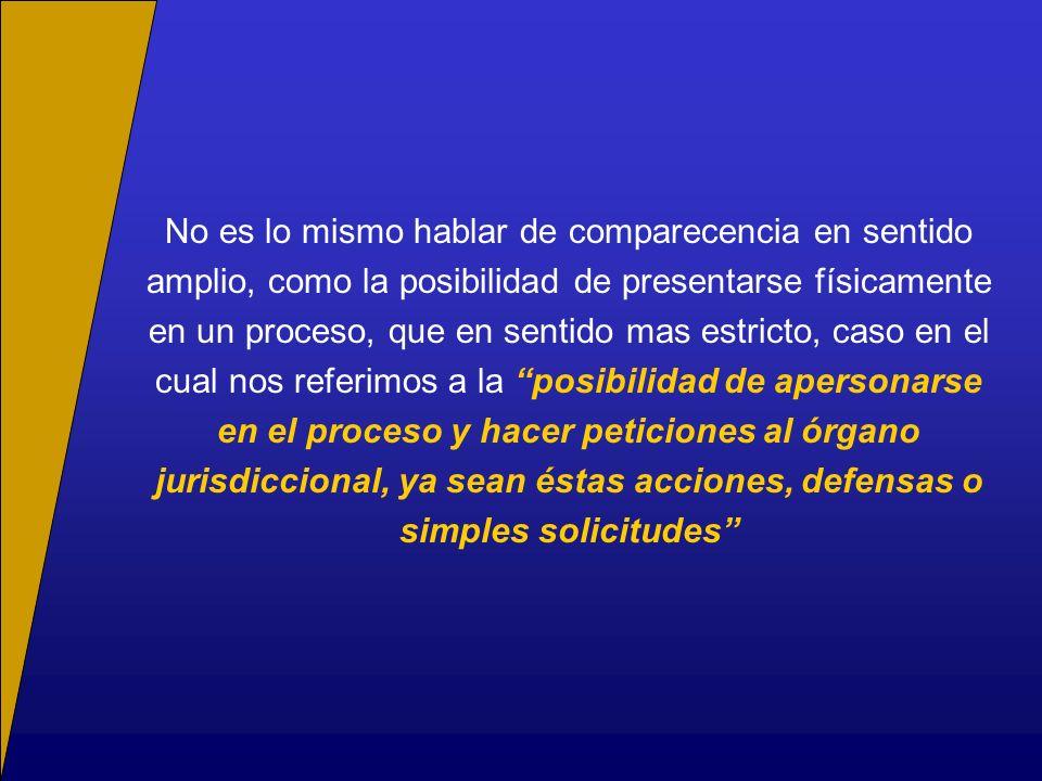 La capacidad para parecer en juicio o ius postulandi, se traduce en el estudio de dos instituciones procesales fundamentales Patrocinio El mandatario; mira a la representación (actúa en el procedimiento).