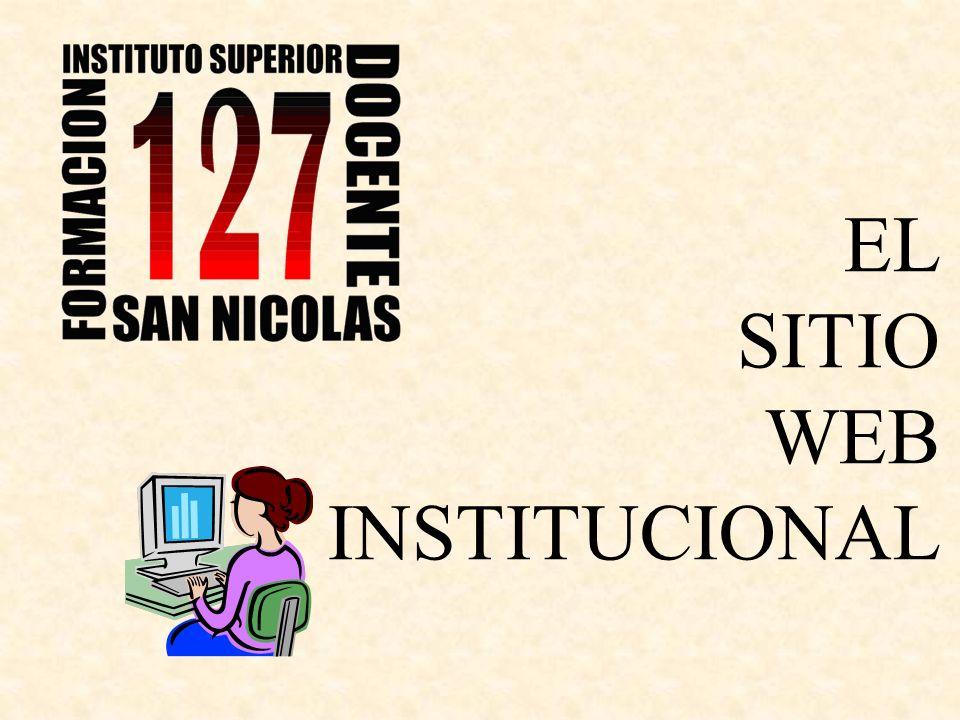 EL SITIO WEB INSTITUCIONAL