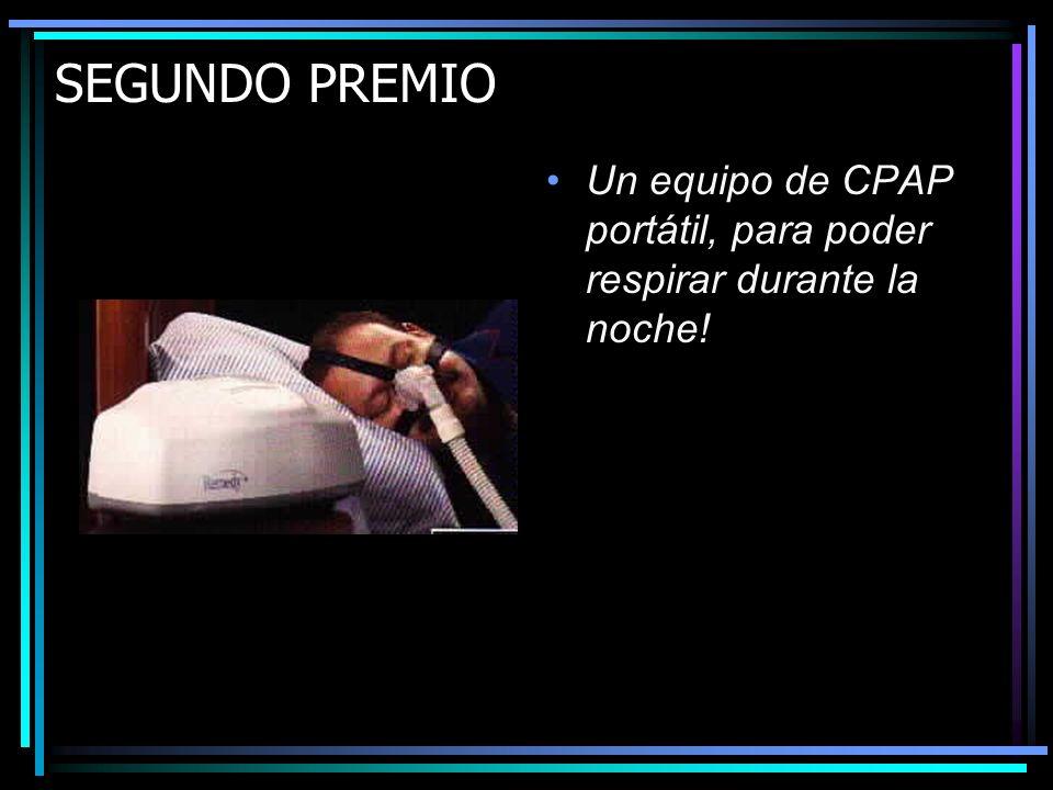 PRIMER PREMIO Un flamante concentrador de oxígeno con su respectivo humidificador y cánula nasal, para que puedan respirar con menos dificultad!