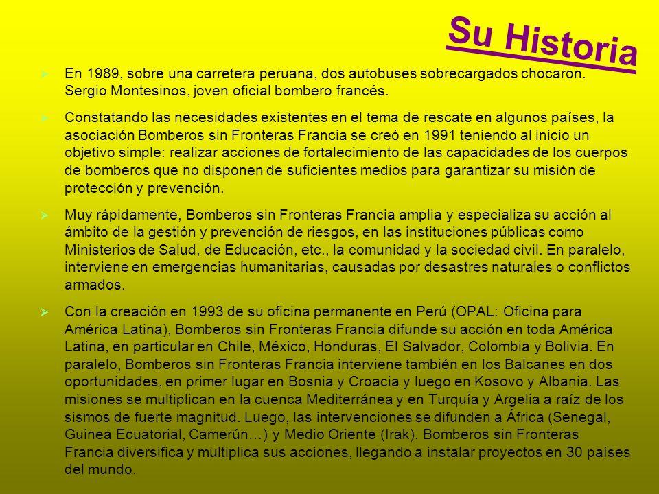 Su Historia En 1989, sobre una carretera peruana, dos autobuses sobrecargados chocaron.