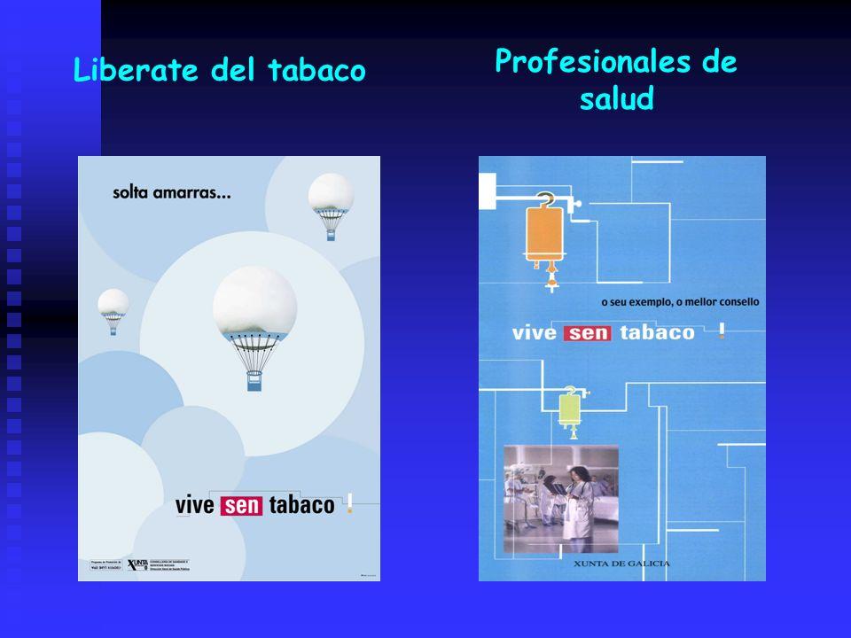 Liberate del tabaco Profesionales de salud
