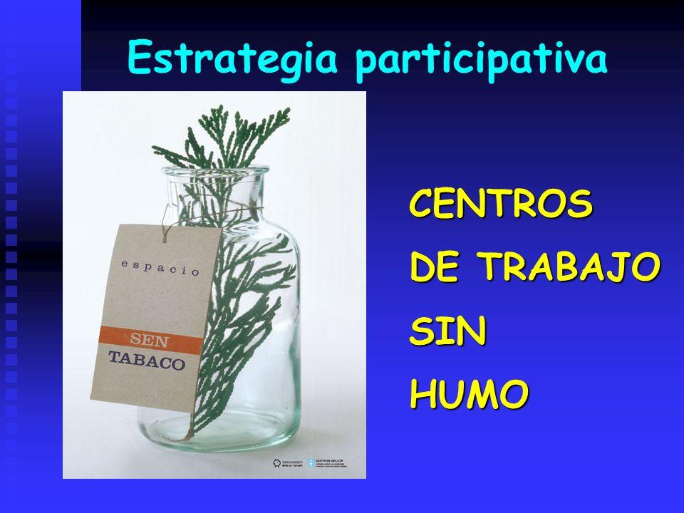 Estrategia participativa CENTROS DE TRABAJO SINHUMO