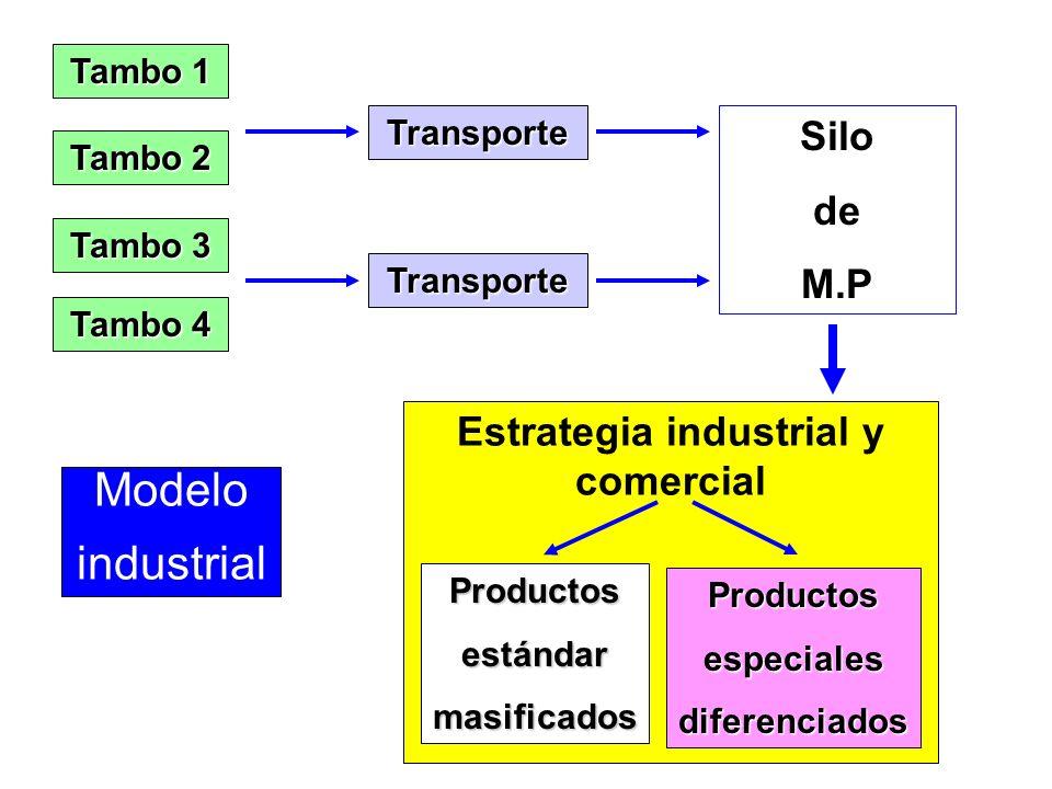Funcionamiento Cadenas - Costos - Diferenciación - Aptitud - Rendimiento - Precio - Volumen - Abastecimiento - Sin cambios - Criterios específicos - R