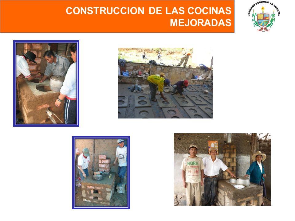 CONSTRUCCION DE LAS COCINAS MEJORADAS