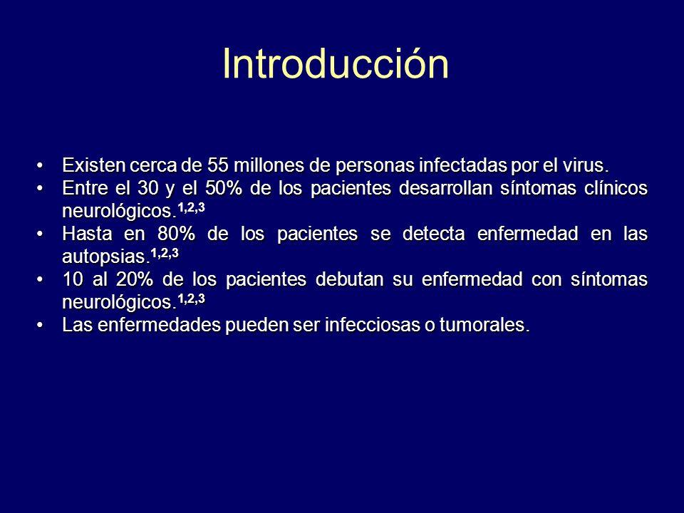 Existen cerca de 55 millones de personas infectadas por el virus.Existen cerca de 55 millones de personas infectadas por el virus. Entre el 30 y el 50