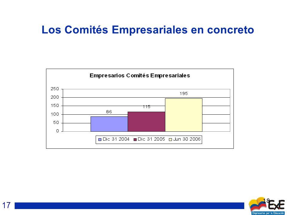 18 Los Comités Empresariales en concreto 17