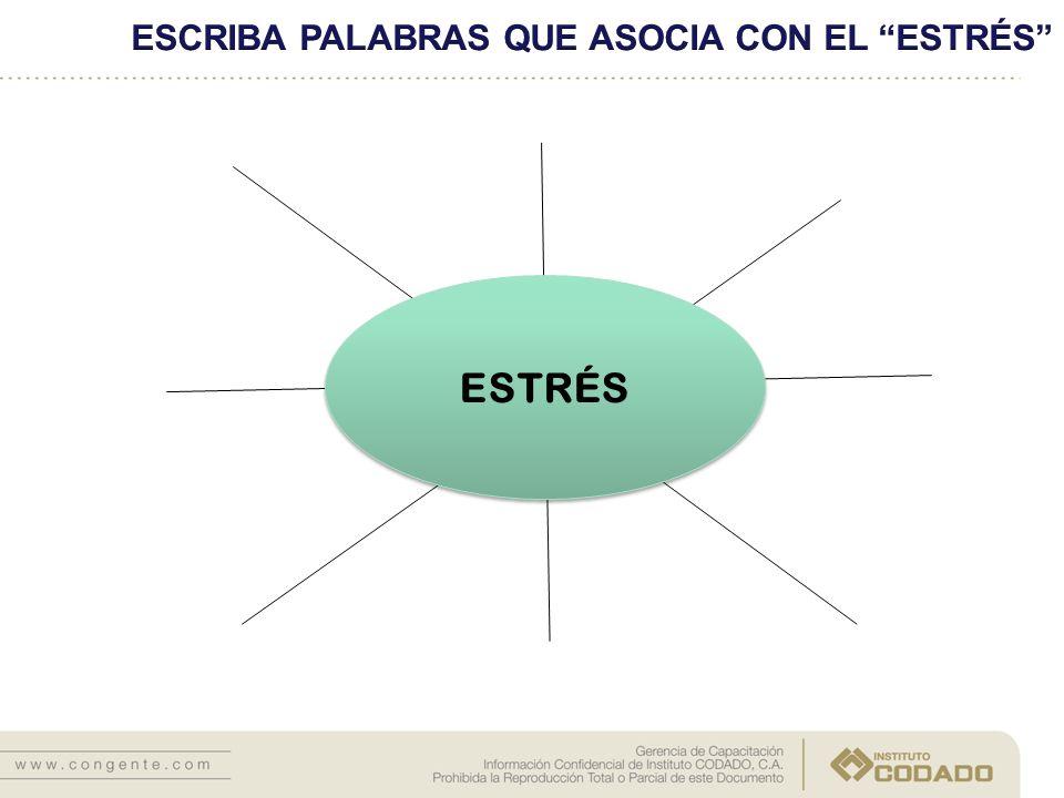 La principal respuesta psicológica asociada al estrés es de tipo emocional.