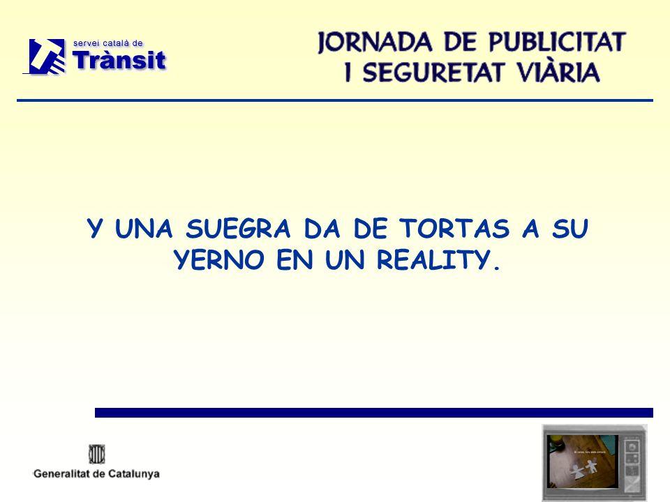 Y UNA SUEGRA DA DE TORTAS A SU YERNO EN UN REALITY.