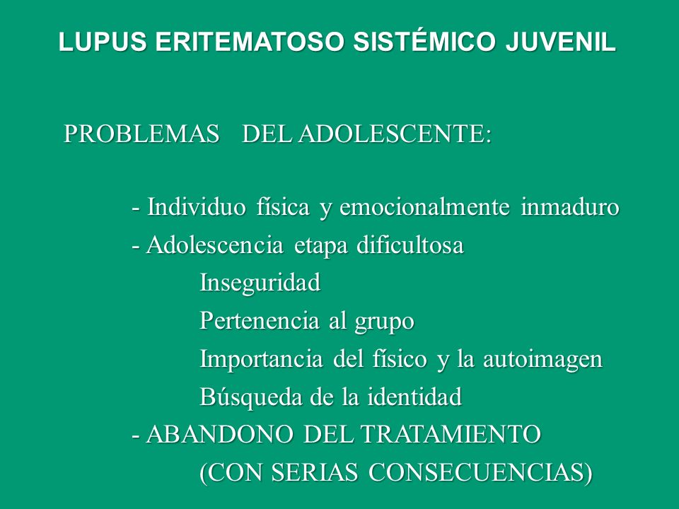 PROBLEMAS DEL ADOLESCENTE: - Individuo física y emocionalmente inmaduro - Adolescencia etapa dificultosa Inseguridad Pertenencia al grupo Importancia