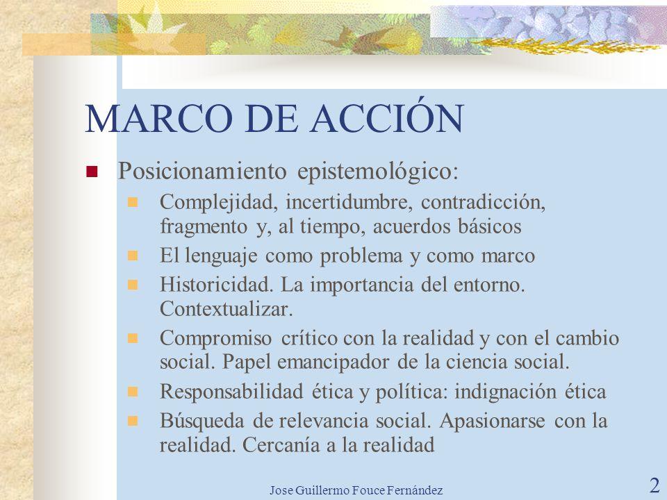 Jose Guillermo Fouce Fernández1 PSICOLOGÍA SOCIAL Y COMPROMISO. LA EXPERIENCIA DE PSICOLOGOS SIN FRONTERAS