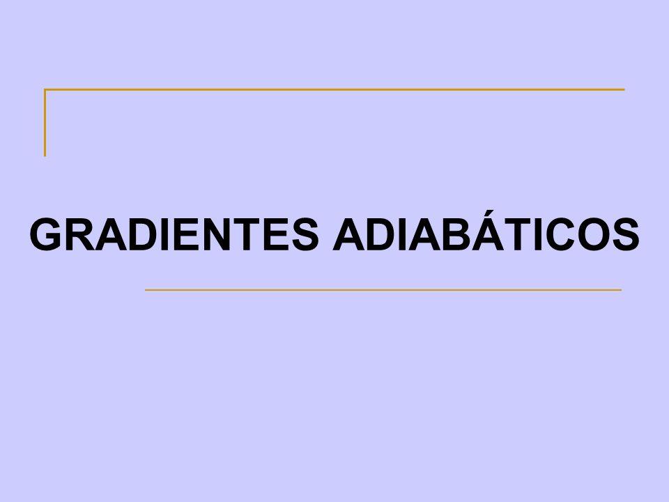GRADIENTES ADIABÁTICOS