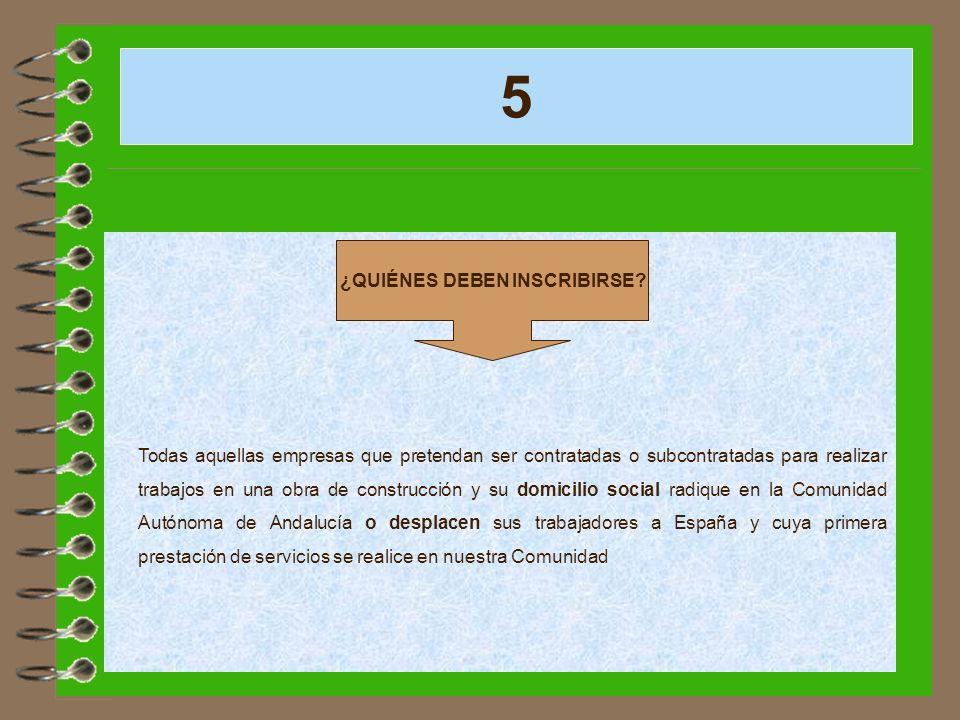 6 ¿PUEDE INSCRIBIRSE EL PROMOTOR O UN TRABAJADOR AUTÓNOMO.