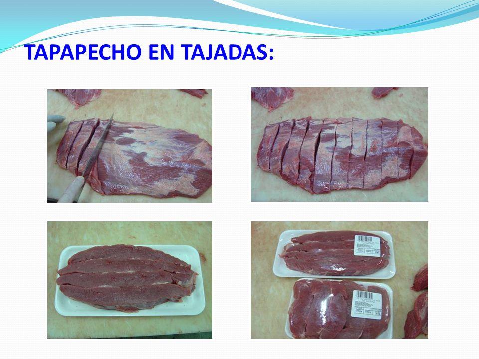 TAPAPECHO EN TAJADAS: