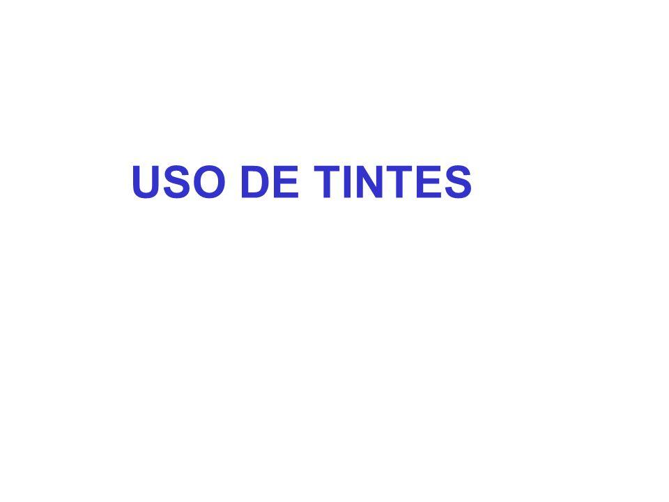 USO DE TINTES