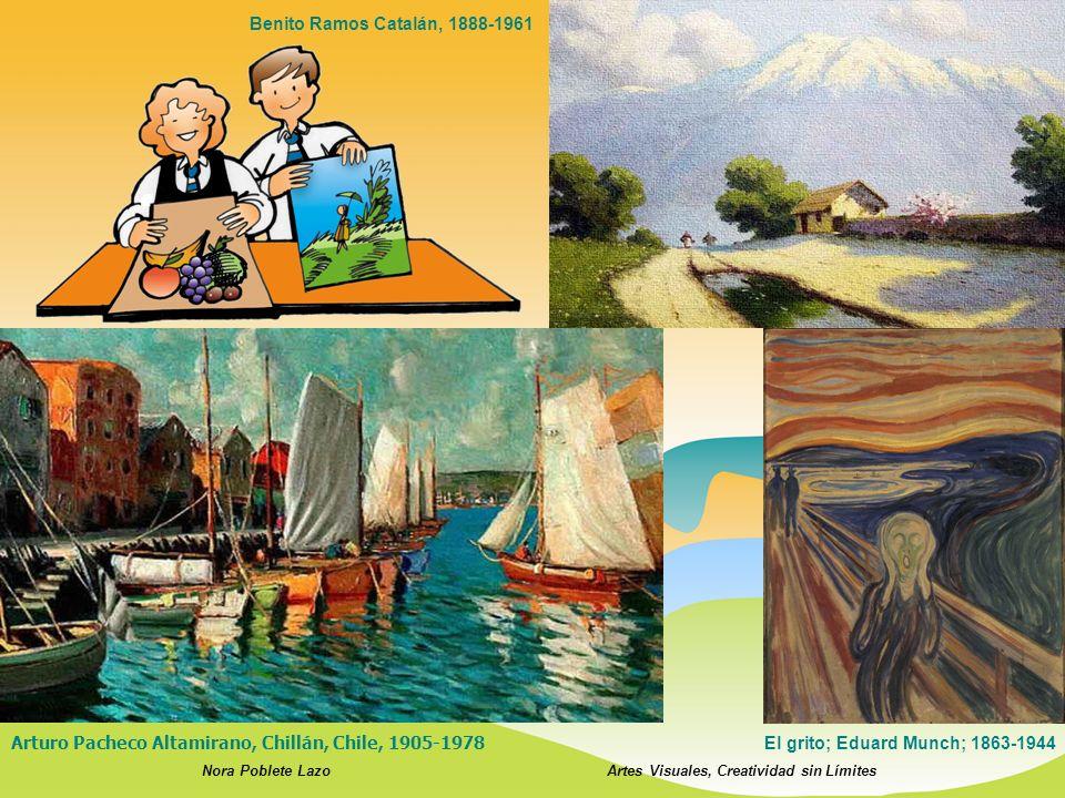 Nora Poblete LazoArtes Visuales, Creatividad sin Límites Arturo Pacheco Altamirano, Chillán, Chile, 1905-1978 El grito; Eduard Munch; 1863-1944 Benito