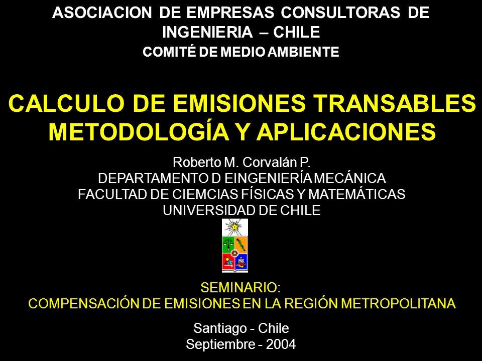 DEPARTAMENTO DE INGENIERÍA MECÁNICA – FACULTAD DE CIENCIAS FÍSICAS Y MATEMÁTICAS UNIVERSIDAD DE CHILE RESULTADOS DE APLICACIONES