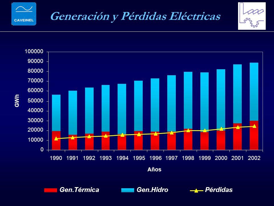 Generación y Pérdidas Eléctricas