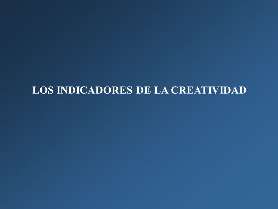 LOS INDICADORES DE LA CREATIVIDAD
