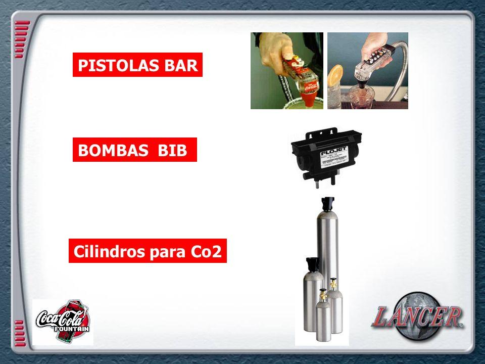 PISTOLAS BAR BOMBAS BIB Cilindros para Co2