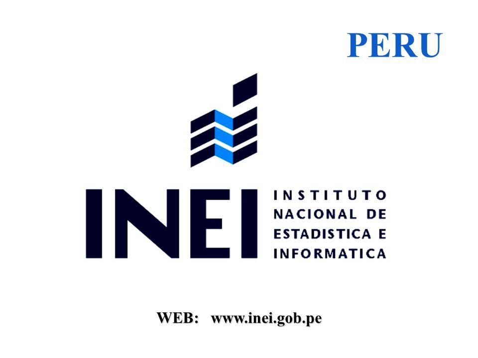 WEB: www.inei.gob.pe PERU