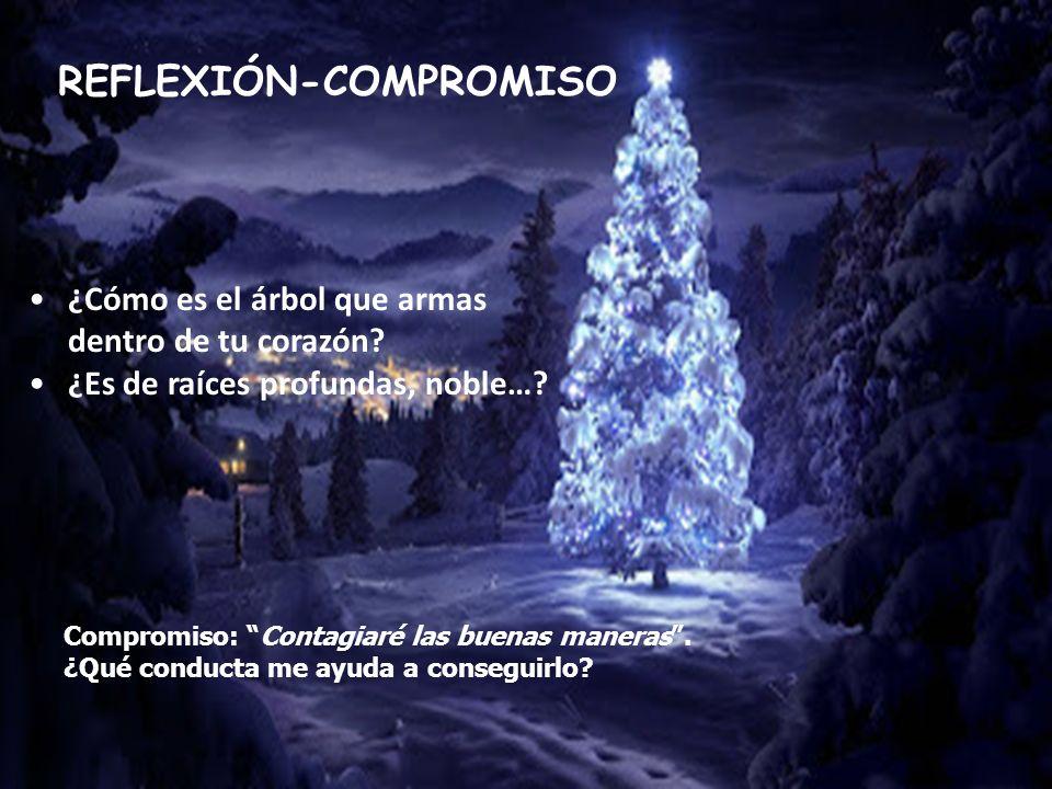 REFLEXIÓN-COMPROMISO Compromiso: Contagiaré las buenas maneras.
