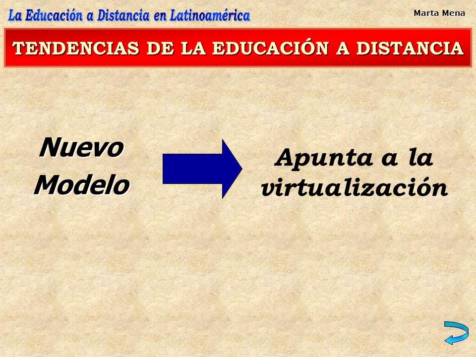 Desde lo Organizativo: DESARROLLOS EN MARCHA Universidad presencial que introduce elementos de virtualidad en su dinámica educativa.