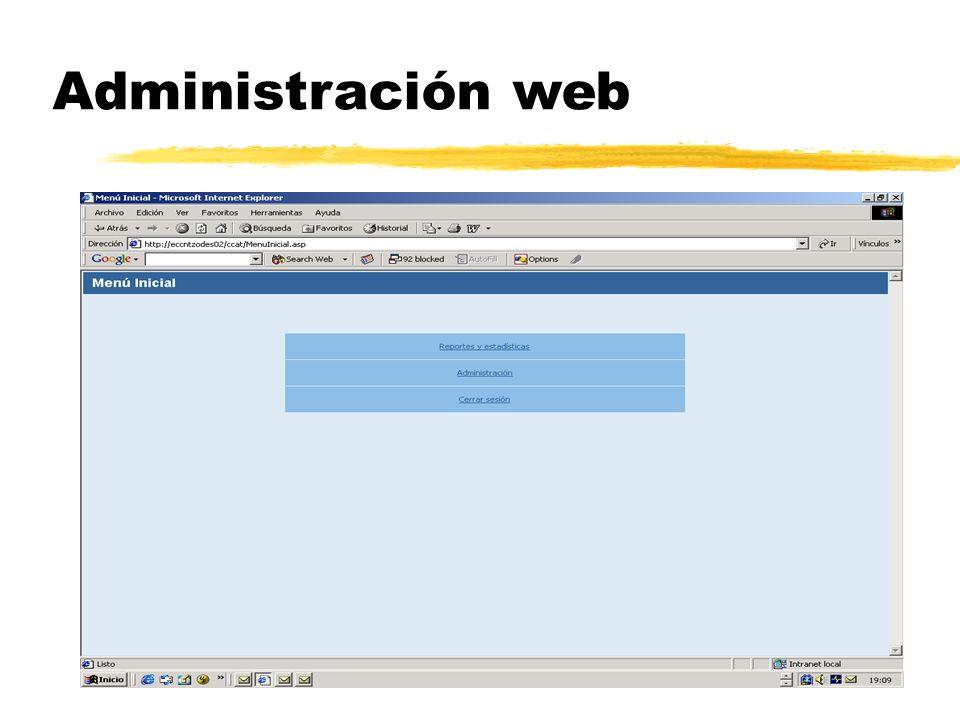 Administración web