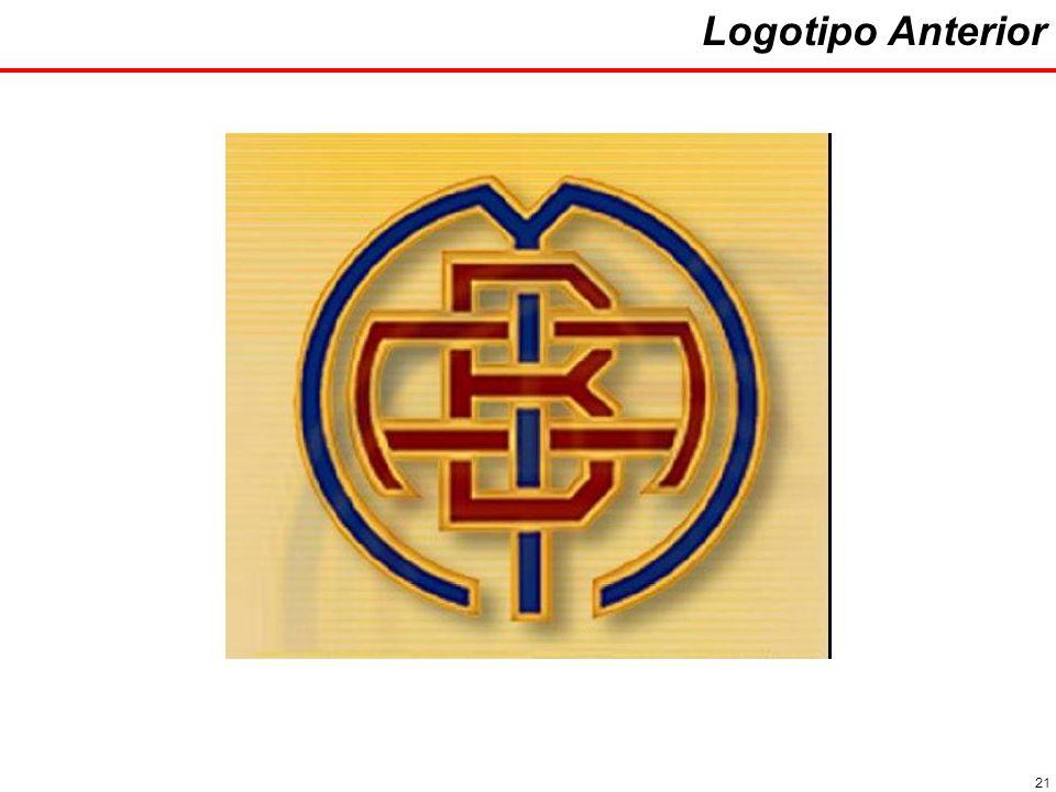 21 Logotipo Anterior